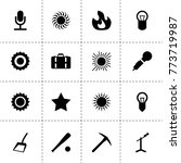 clipart icons. vector...