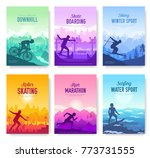 Colorful Covers With Various...