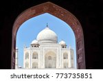 taj mahal. agra  india | Shutterstock . vector #773735851