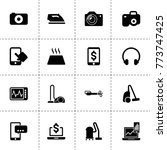 device icons. vector collection ...