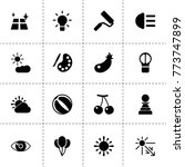 bright icons. vector collection ... | Shutterstock .eps vector #773747899