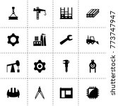 engineering icons. vector...