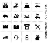 service icons. vector...