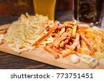 close up of a lot of different... | Shutterstock . vector #773751451