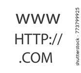 world wide web codes vector icon