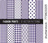 Ultra Violet Fashion Textile...