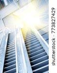 office building interior... | Shutterstock . vector #773827429