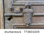 vintage handles isolated  close ... | Shutterstock . vector #773831035