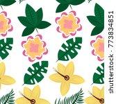 flowers natural decoration...   Shutterstock .eps vector #773834851