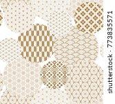 japanese pattern background... | Shutterstock .eps vector #773835571