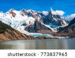 cerro torre mountain  patagonia ... | Shutterstock . vector #773837965
