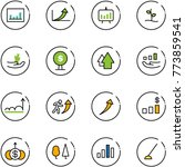 line vector icon set  ... | Shutterstock .eps vector #773859541