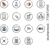 line vector icon set  ...   Shutterstock .eps vector #773871955