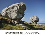 Glacial Erratic  Caher Valley ...