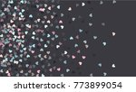 beautiful confetti hearts... | Shutterstock .eps vector #773899054