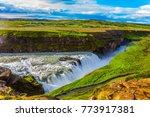 picturesque multi colored... | Shutterstock . vector #773917381