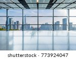 panoramic skyline and buildings ... | Shutterstock . vector #773924047