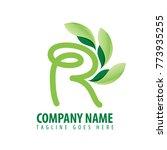 initial letter r design logo... | Shutterstock .eps vector #773935255