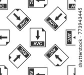 avc file document icon....