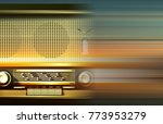 abstract blur music background... | Shutterstock .eps vector #773953279