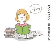 vector illustration character... | Shutterstock .eps vector #773957725