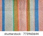 variety of color bar paint on a ... | Shutterstock . vector #773960644