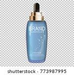 design cosmetics product ... | Shutterstock .eps vector #773987995