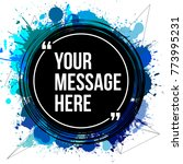innovative vector quotation... | Shutterstock .eps vector #773995231