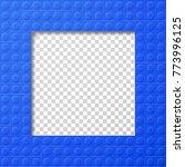vector template frame for photo ... | Shutterstock .eps vector #773996125