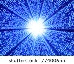 abstract 3d illustration of... | Shutterstock . vector #77400655