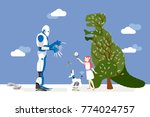 vector illustration about... | Shutterstock .eps vector #774024757