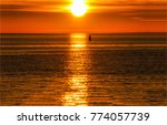 sunset sea horizon landscape | Shutterstock . vector #774057739
