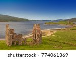 ardvreck castle on the shores... | Shutterstock . vector #774061369