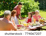 leisure  holidays and people... | Shutterstock . vector #774067207