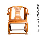 chinese style chair with... | Shutterstock . vector #774067741