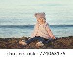adorable happy smiling little... | Shutterstock . vector #774068179