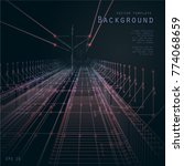 background image. road in... | Shutterstock .eps vector #774068659