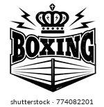 vector vintage logo for a... | Shutterstock .eps vector #774082201