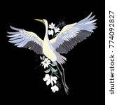 vector of illustrations bird... | Shutterstock .eps vector #774092827