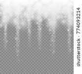 snowfall for your winter design ... | Shutterstock .eps vector #774093214
