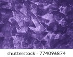 beautiful ultra violet texture. ...   Shutterstock . vector #774096874