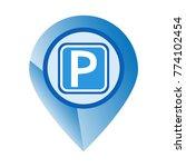 vector car parking icon   Shutterstock .eps vector #774102454