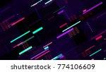 tech seamless pattern with...   Shutterstock .eps vector #774106609