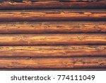 dark wood background. | Shutterstock . vector #774111049