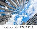 beautiful skyscraper reaching... | Shutterstock . vector #774115819