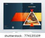 brochure template layout design.... | Shutterstock .eps vector #774135109