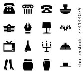 origami style icon set   phone... | Shutterstock .eps vector #774144079