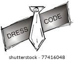 Dress code - stock photo