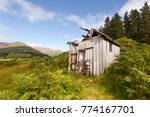 Abandoned Shed In The Scottish...