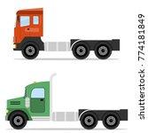 truck tractor  freight...   Shutterstock .eps vector #774181849